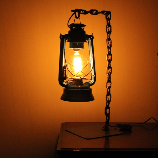 Lamp In Metal | Lantern Chain 2