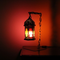Lamp In Metal | Moroccan Chain 1