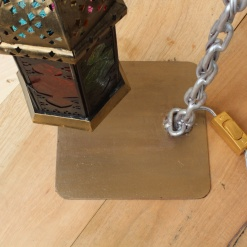 Lamp In Metal   Moroccan Chain 6