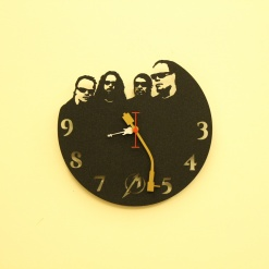 Metal Head Wall Clock 2