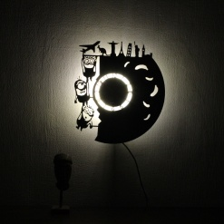 Wall Light Come Wall Clock | Bananas 2