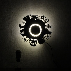 Wall Light Come Wall Clock | Beach City 2