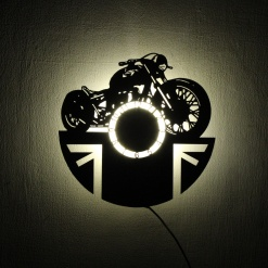 Wall Light Come Wall Clock | Bike 2 2
