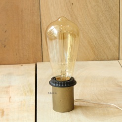 3 Lamp in Metal - Minimalist Edison Bulb