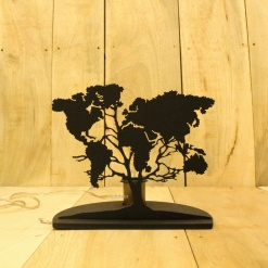 5 DIY Decorative Table Lamp World Tree