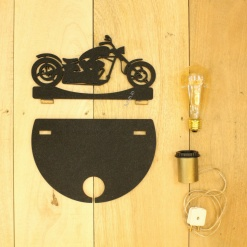 8 DIY Decorative Table Lamp Bike