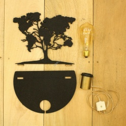 8 DIY Decorative Table Lamp World Tree