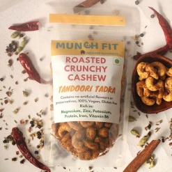 roasted crunchy cashew nut tandoori tadka