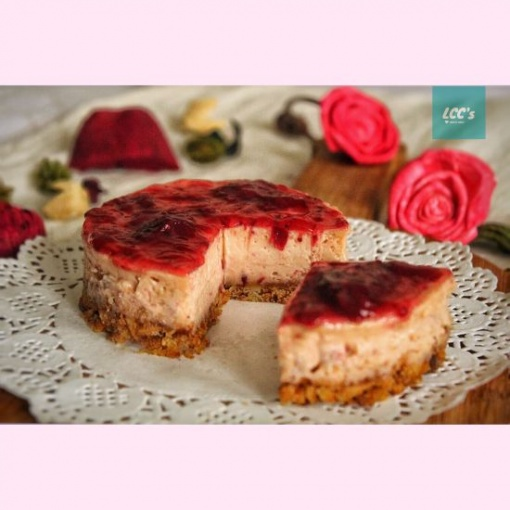 strawberry cheese cake by LCC